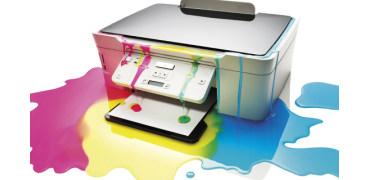 JUST A MINUTE—你意识到打印机里面关于碳粉和墨水的战争吗?
