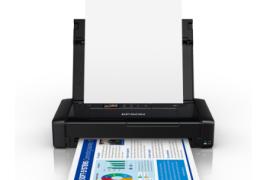 爱普生推出超轻彩色移动打印机