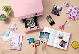 趣印多彩生活,佳能发布4款腾彩PIXMA喷墨打印机新品