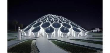建筑的狂欢,迪拜世博会首个3D打印混凝土展馆亮相