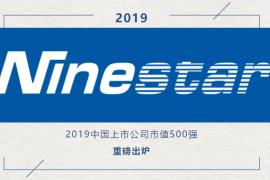 纳思达入围2019中国上市公司市值500强