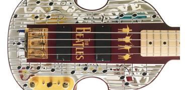 向甲壳虫乐队致敬:这把3D打印吉他值得拥有