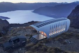 专为离网生活设计的世界上最大的3D打印聚合物建筑