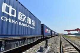 惠普-岳阳新金宝工厂喷墨打印机经中欧班列出口,首次运输1500台