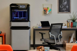 面对国货崛起 美国3D打印巨头Stratasys发布全彩新3D打印机J55