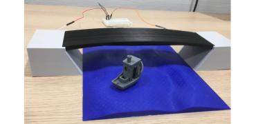 研究人员开发3D打印的自感应复合零件