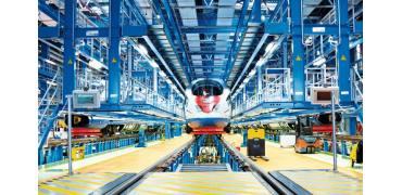 俄罗斯铁路公司测试3D打印门把手