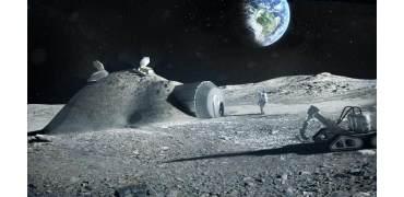 宇航员尿液或能成为3D打印月球基地关键材料