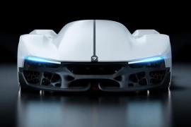 "Rimac绘制2080年概念车,其3D打印的底盘可以""呼吸氧气"""