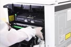 如何处理东芝2309系列打印机出现粉量跳变?