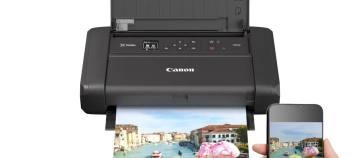 佳能发布无线便携式打印机新品腾彩PIXMA TR150