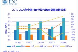 中国打印机市场2020二季度出货量创历史新高,超500万台