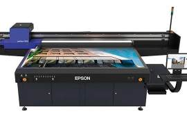 爱普生推出首款UV平板打印机SureColor SC-V7000