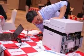 佳能举办年度打印机全国维修服务技能大赛