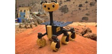 ExoMy:一款你可以用3D打印部件自己建造火星车模型