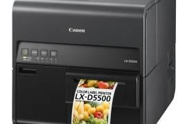 佳能推出喷墨全彩色标签打印机LX-D5500