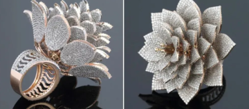 3D打印制造香水瓶及镶嵌7801颗钻石的戒指一览