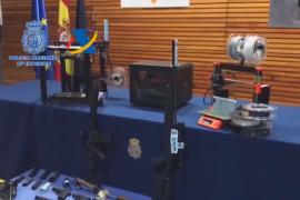 西班牙首次捣毁3D打印武器作坊 发现时还在制作