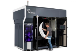 Massivit 3D推出工业级大型3D打印机Massivit 5000
