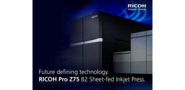 理光将于2022年秋季上市喷墨打印机RICOH Pro Z75