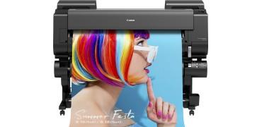 佳能首次推出搭载水性颜料荧光色墨水的大幅面打印机 新imagePROGRAF GP系列 提供更高附加值的图像输出方案
