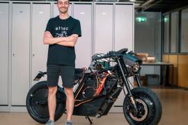 苏黎世大学使用SLS 3D打印技术制造电动摩托车的全功能原型
