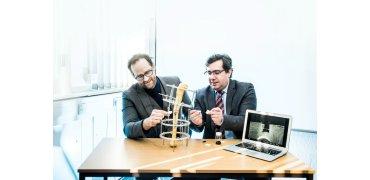 """研究人员使用3D打印""""骨砖""""治疗叙利亚受炸弹伤害的难民"""