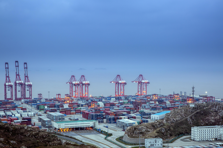 上海洋山港