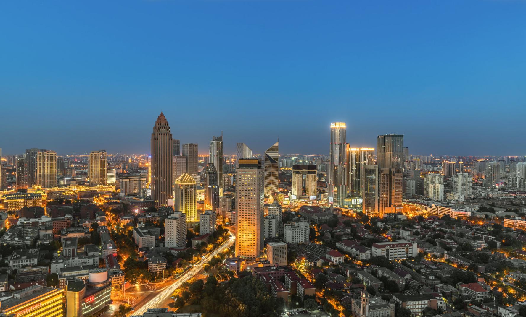 天津市中心